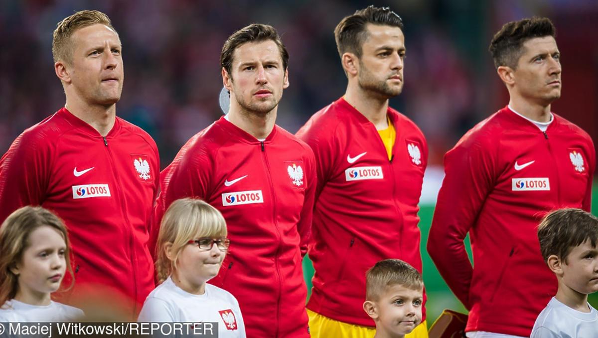 Robert Lewandowski, Grzegorz Krychowiak, Kamil Glik przed meczem