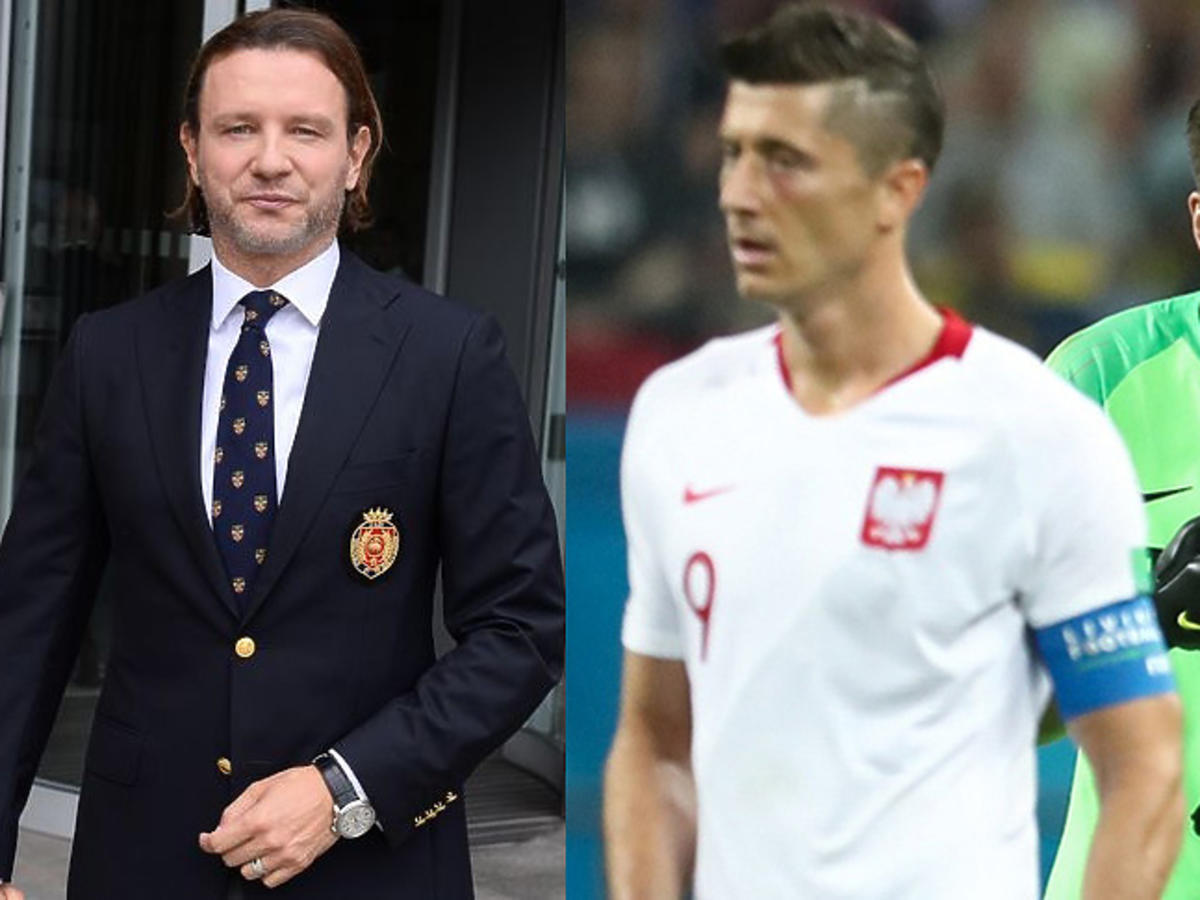 Robert Lewandowski i Wojciech Szczęsny podczas Mundialu, Radek Majdan wychodzi z PNŚ