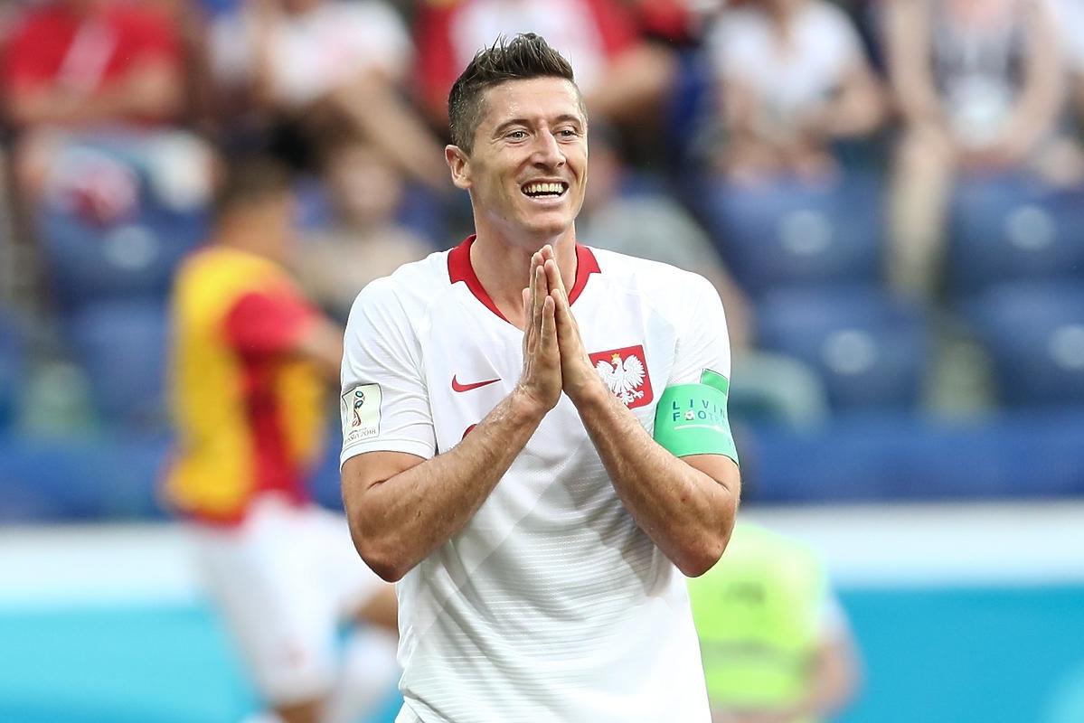 Robert Lewandowski na Mundialu, mecz z Japonią