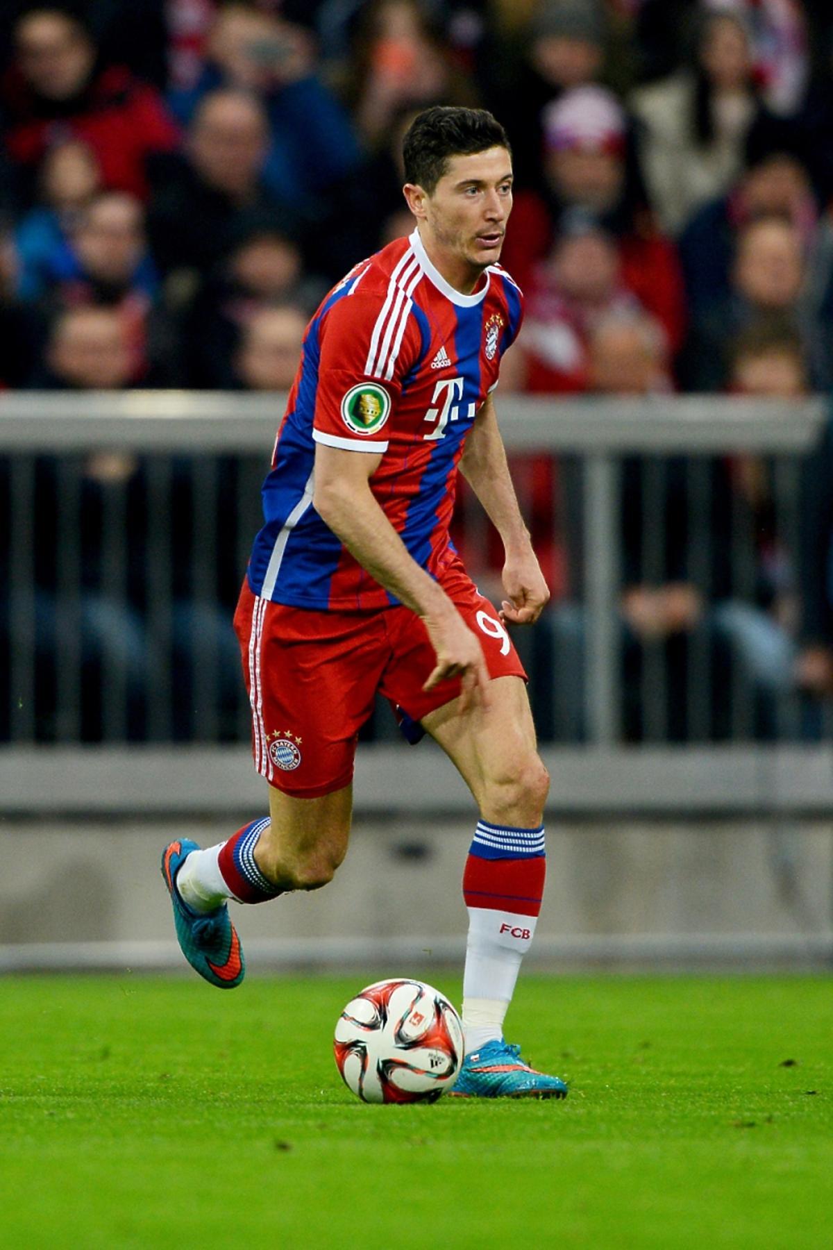 Robert Lewandowski strzelił 5 goli w 10 minut