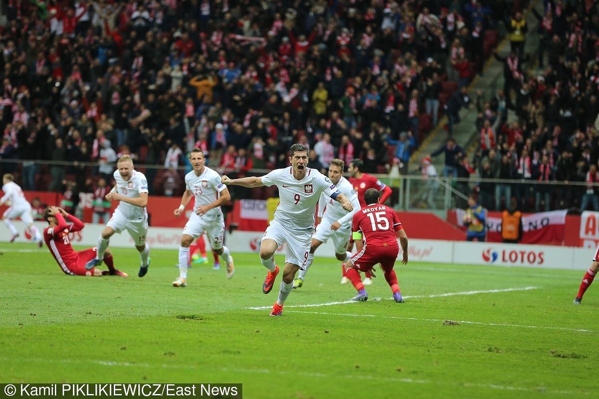 Robert Lewandowski strzelił gola w meczu w Armenią