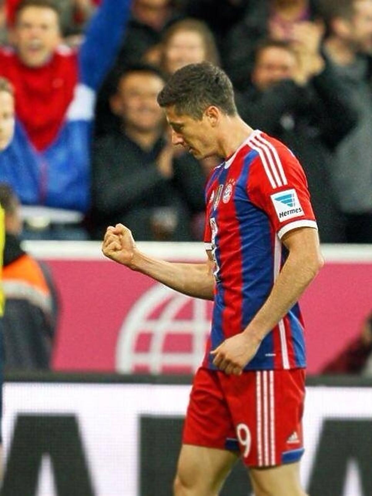 Robert Lewandowski strzelił pierwszego gola na Allianz Arenie