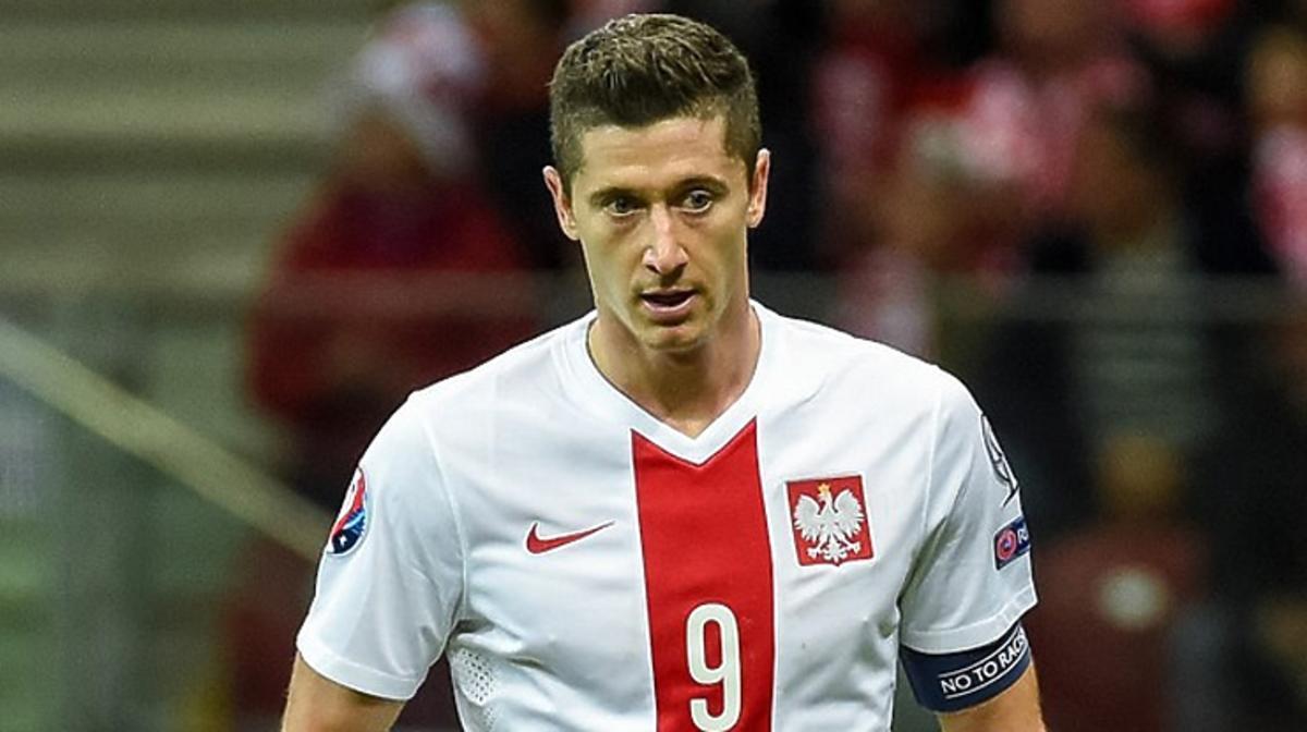 Robert Lewandowski w meczu Polska-Szkocja zagra w wyjątkowych butach