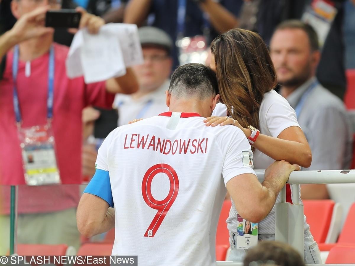 Robert Lewandowski załamany