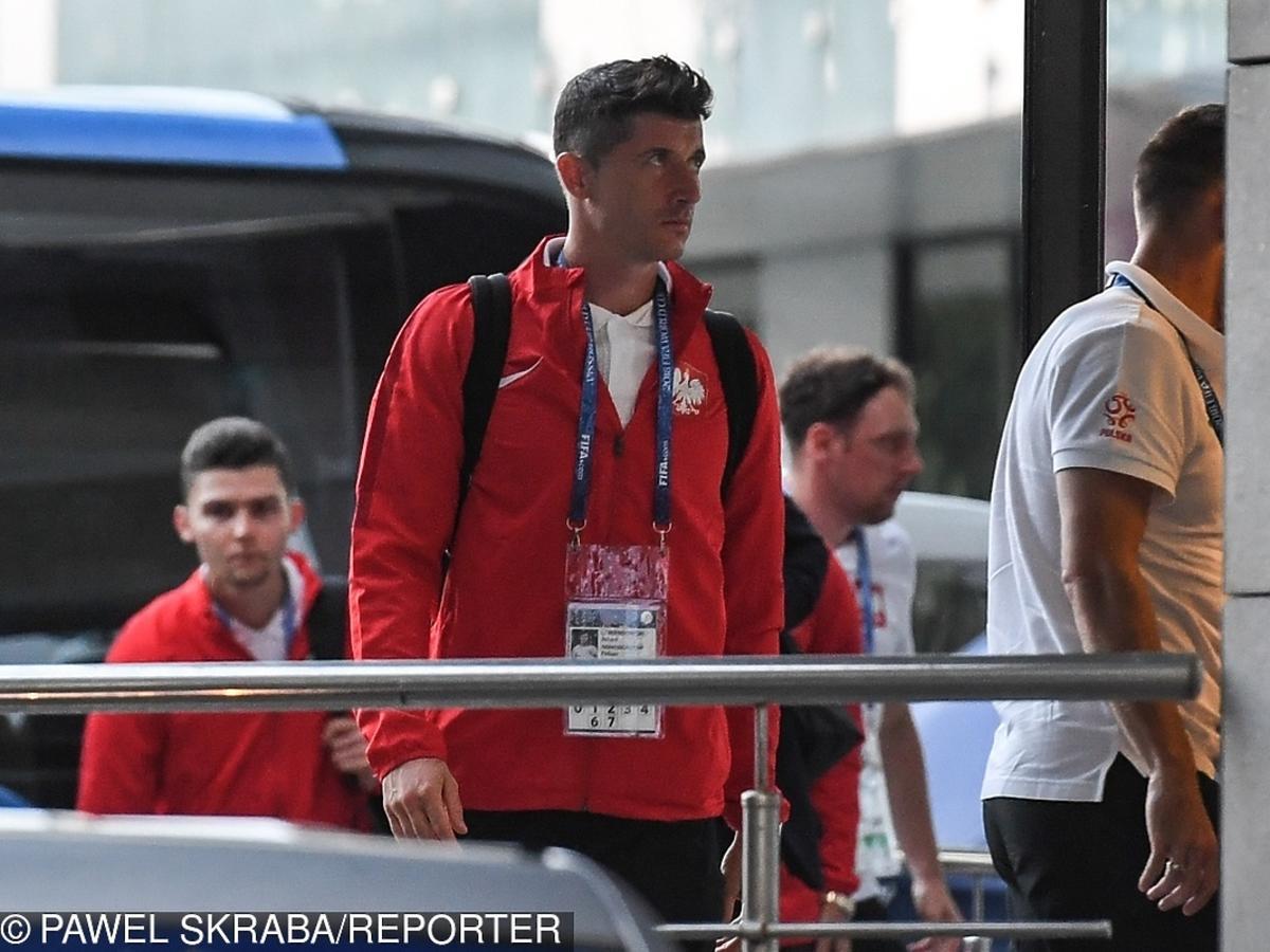 Robert Lewandowski załamany po meczu z Kolumbią