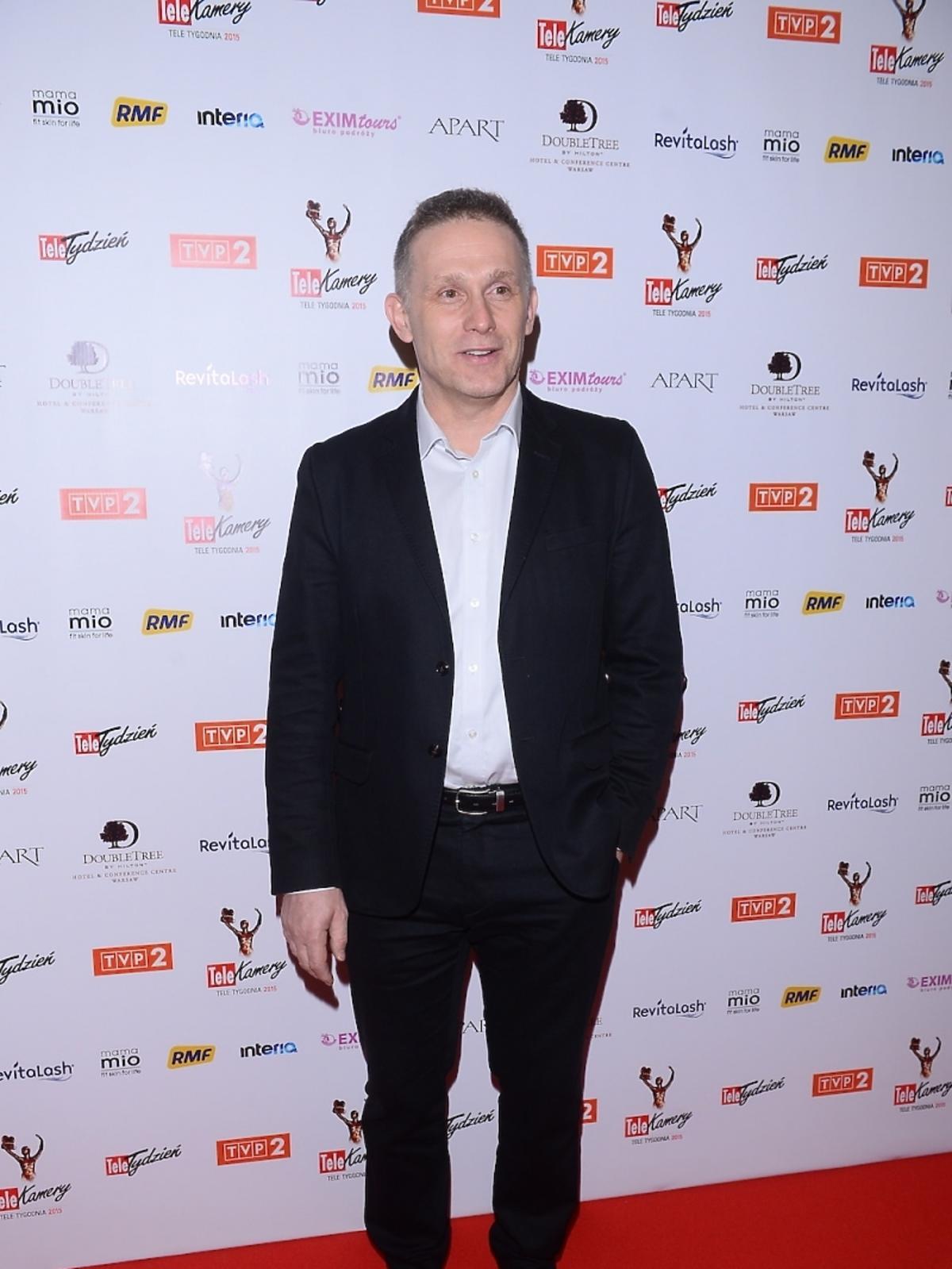 Robert Moskwa na gali TeleKamery 2015