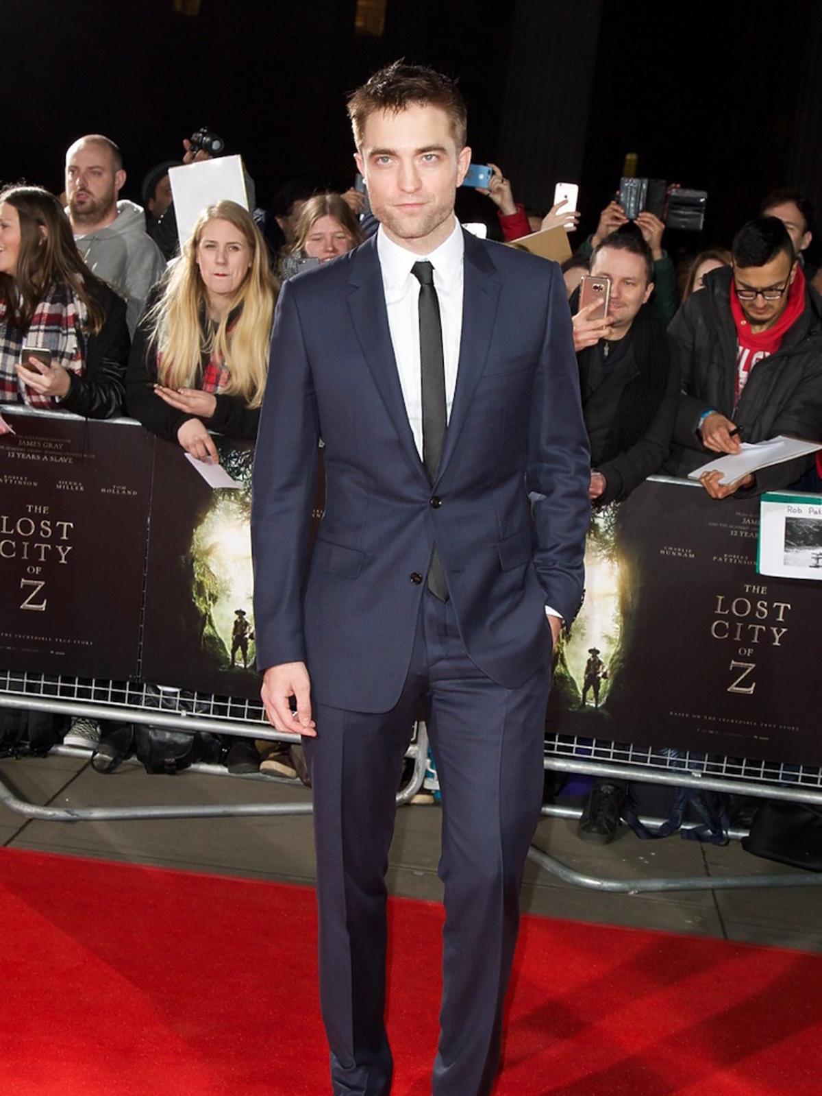 Robert Pattinson - on mógł zagrać Christiana Greya