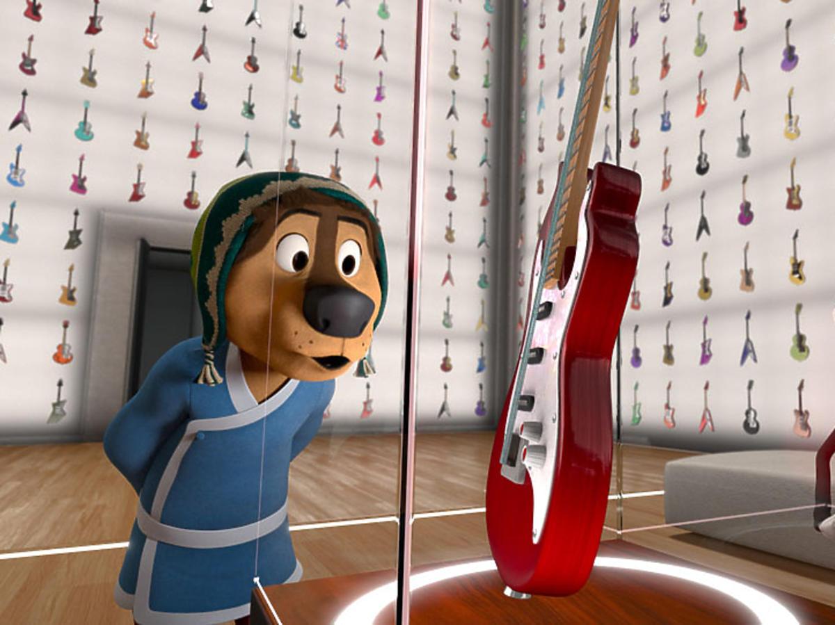 """""""Rock Dog"""" - zdjęcia z planu  filmu"""