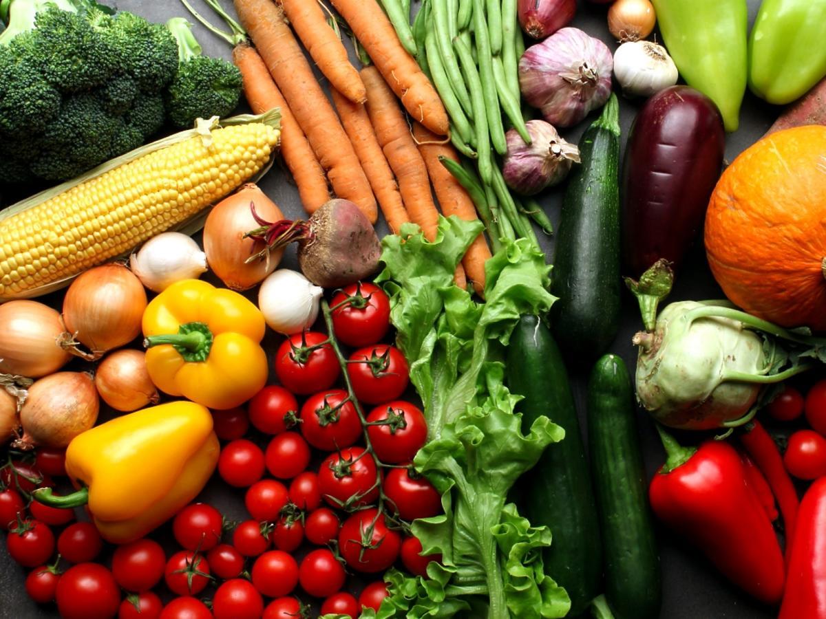 rodzaje warzyw