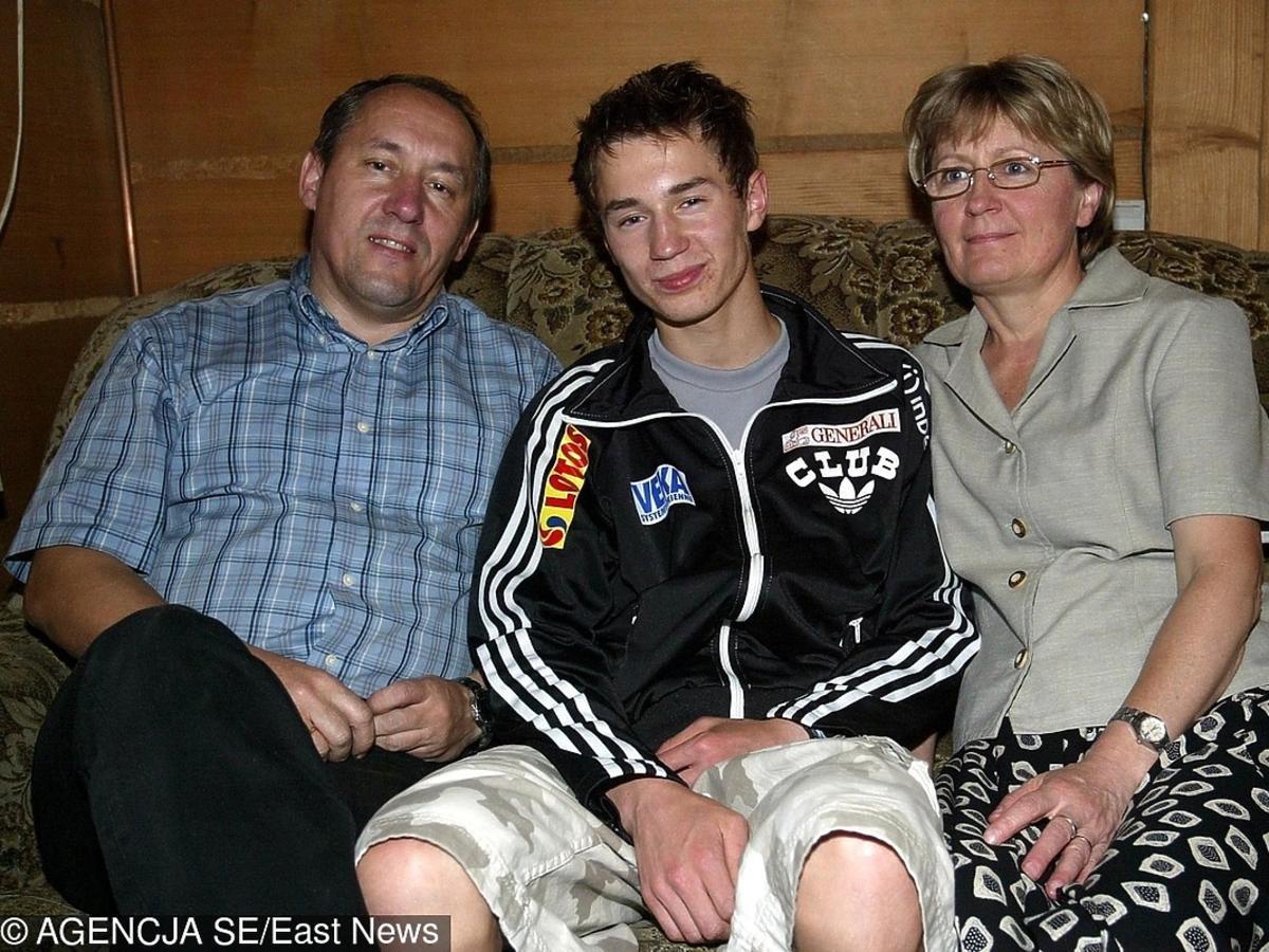 Rodzice Kamila Stocha