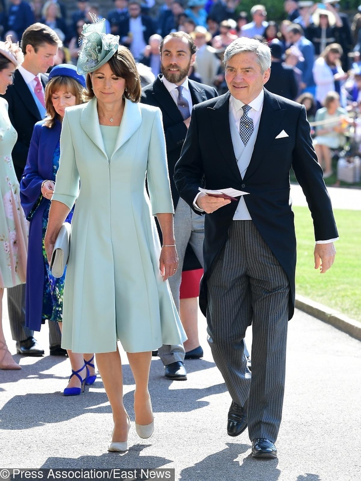 Rodzice księżnej Kate na ślubie Meghan Markle i księcia Harry'ego