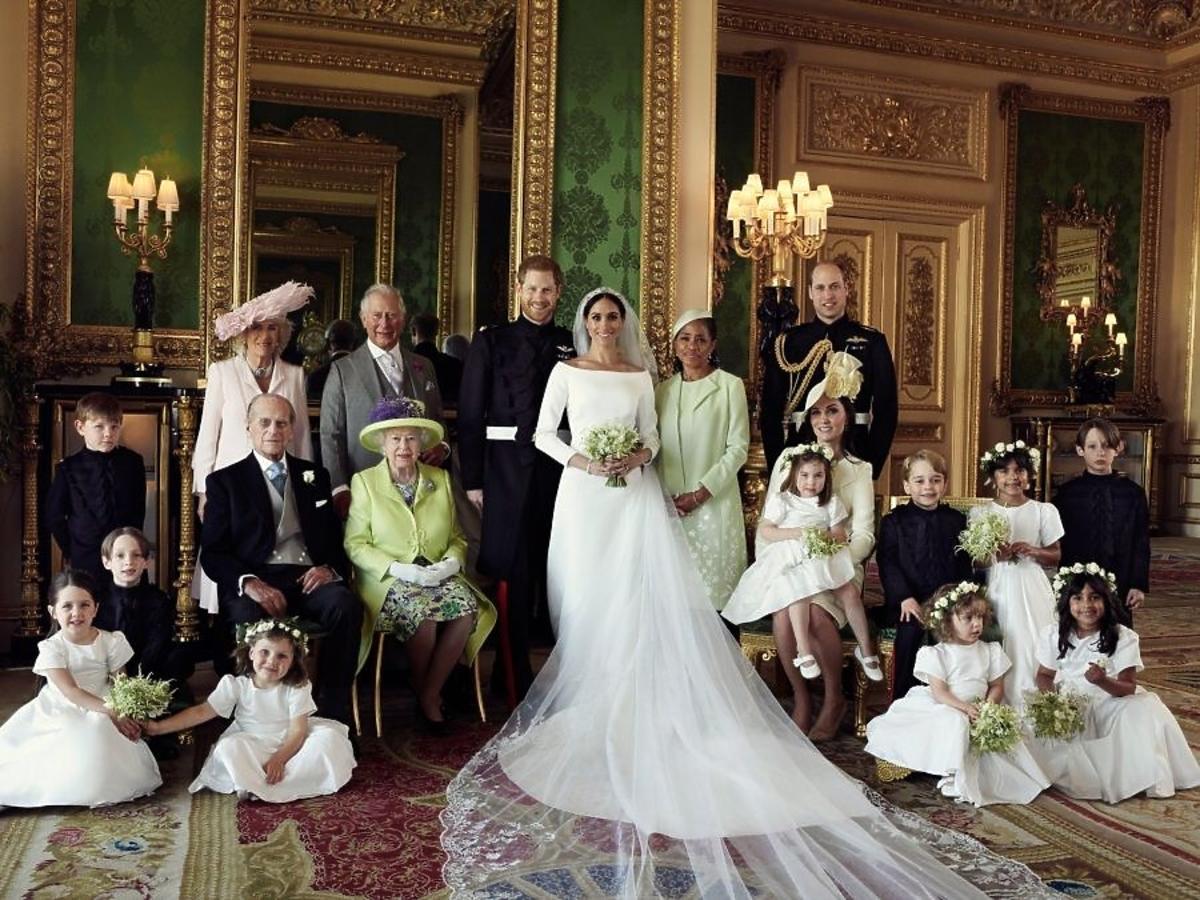 Rodzina królewska po ślubie Meghan i Harry'ego