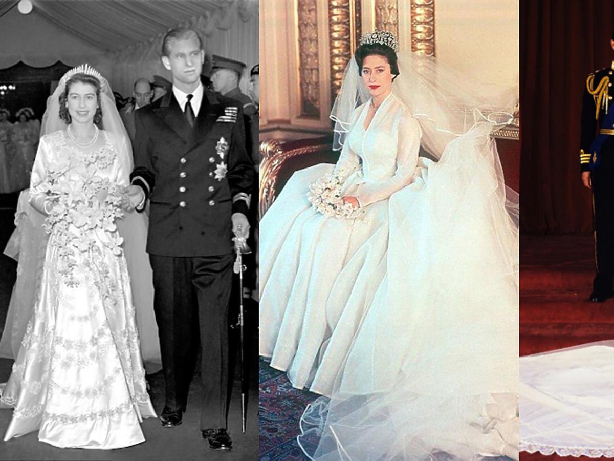 Rodzina królewska suknie ślubne
