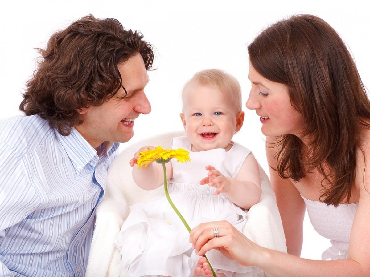 Rodzina z dzieckiem