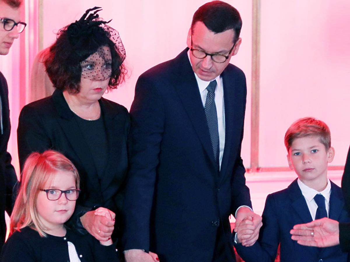 Rodzina żegna Morawieckiego