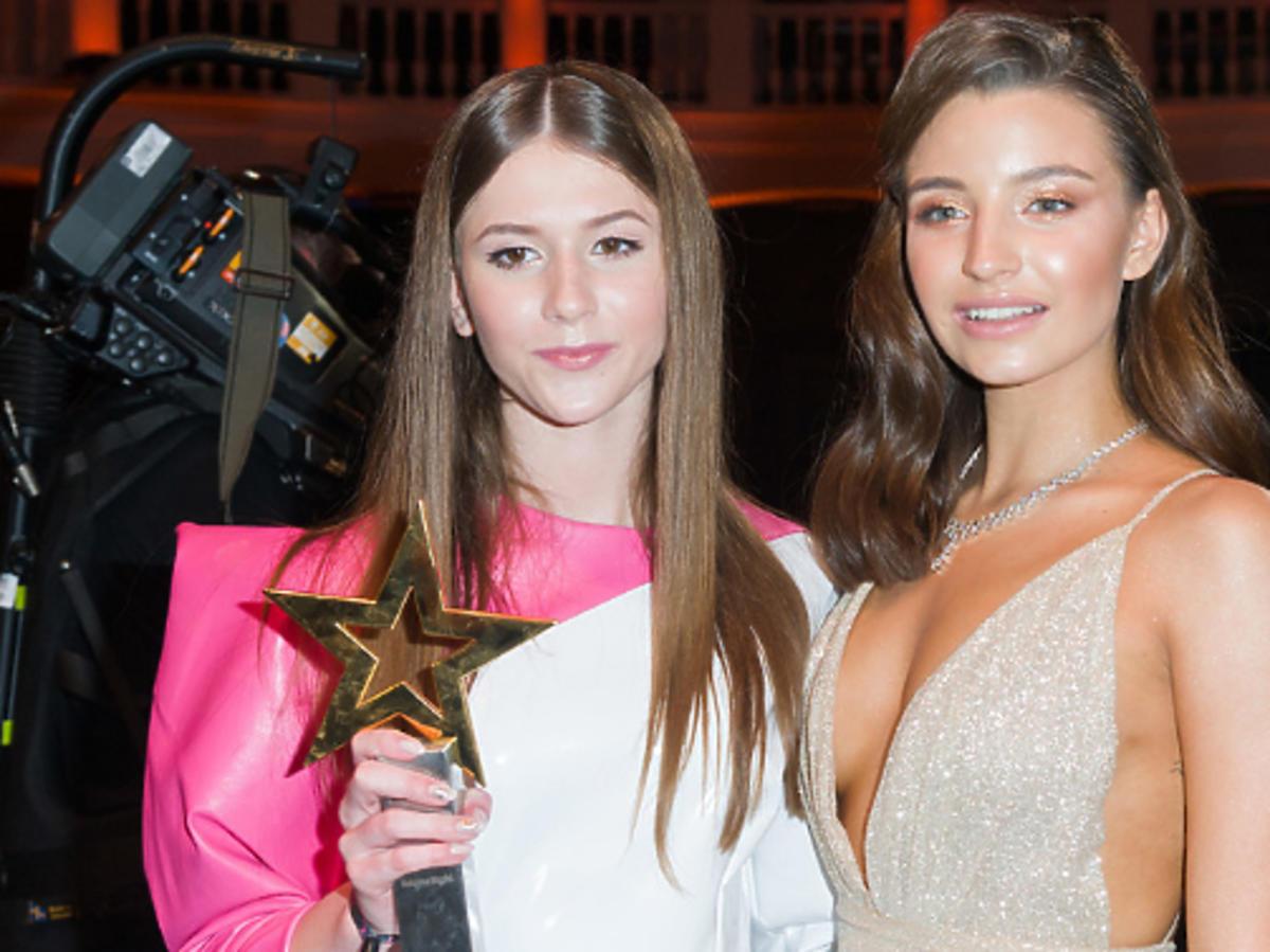 Roksana Węgiel i Julia Wieniawa poznały się na Wielkiej Gali Gwiazd Plejady