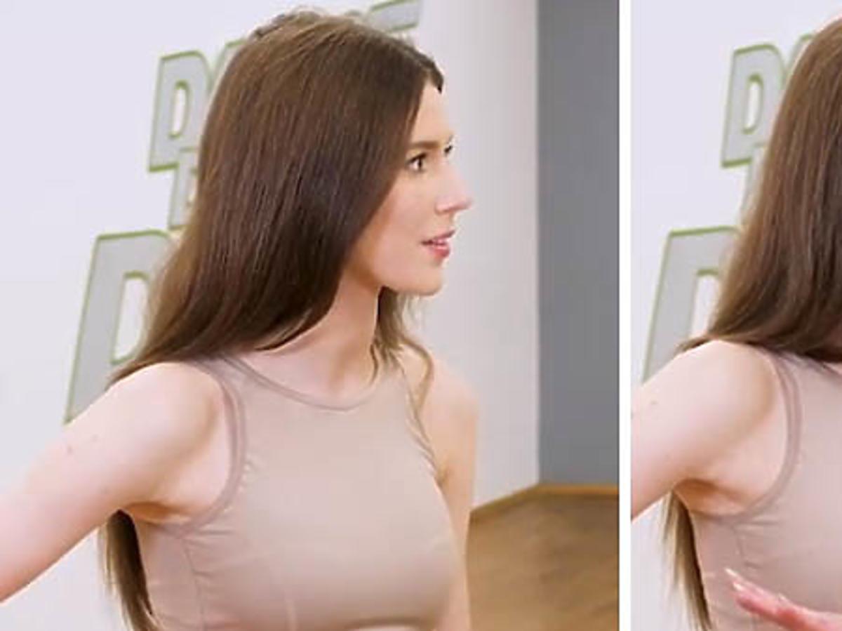 """Roksana Węgiel w sportowym stroju na treningu do finału """"Dance Dance Dance"""""""