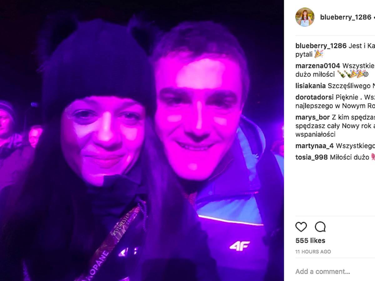 Rolnik szuka żony Jagoda i Karol na sylwestrze TVP w Zakopanem