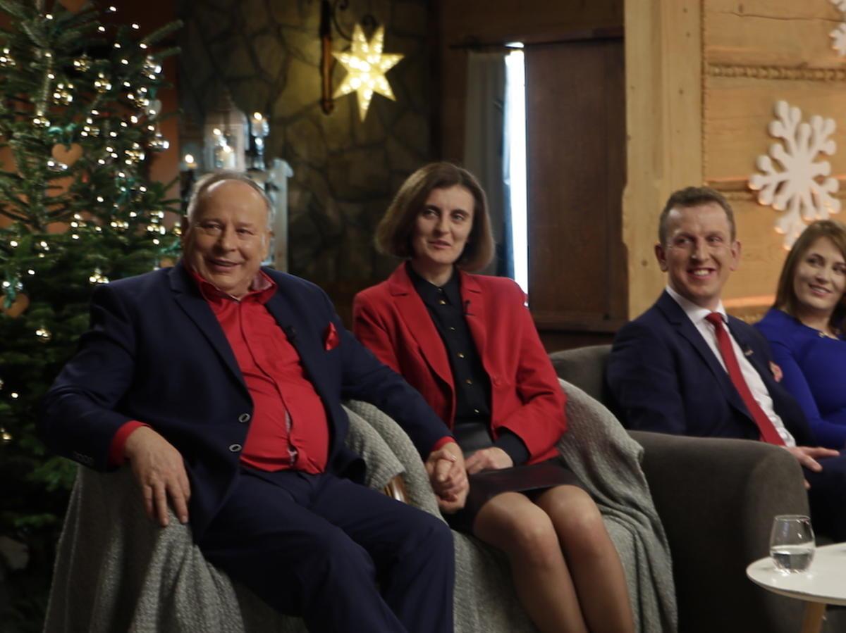 Rolnik szuka żony Mikołaj i Marta na nagraniu świątecznego odcinka
