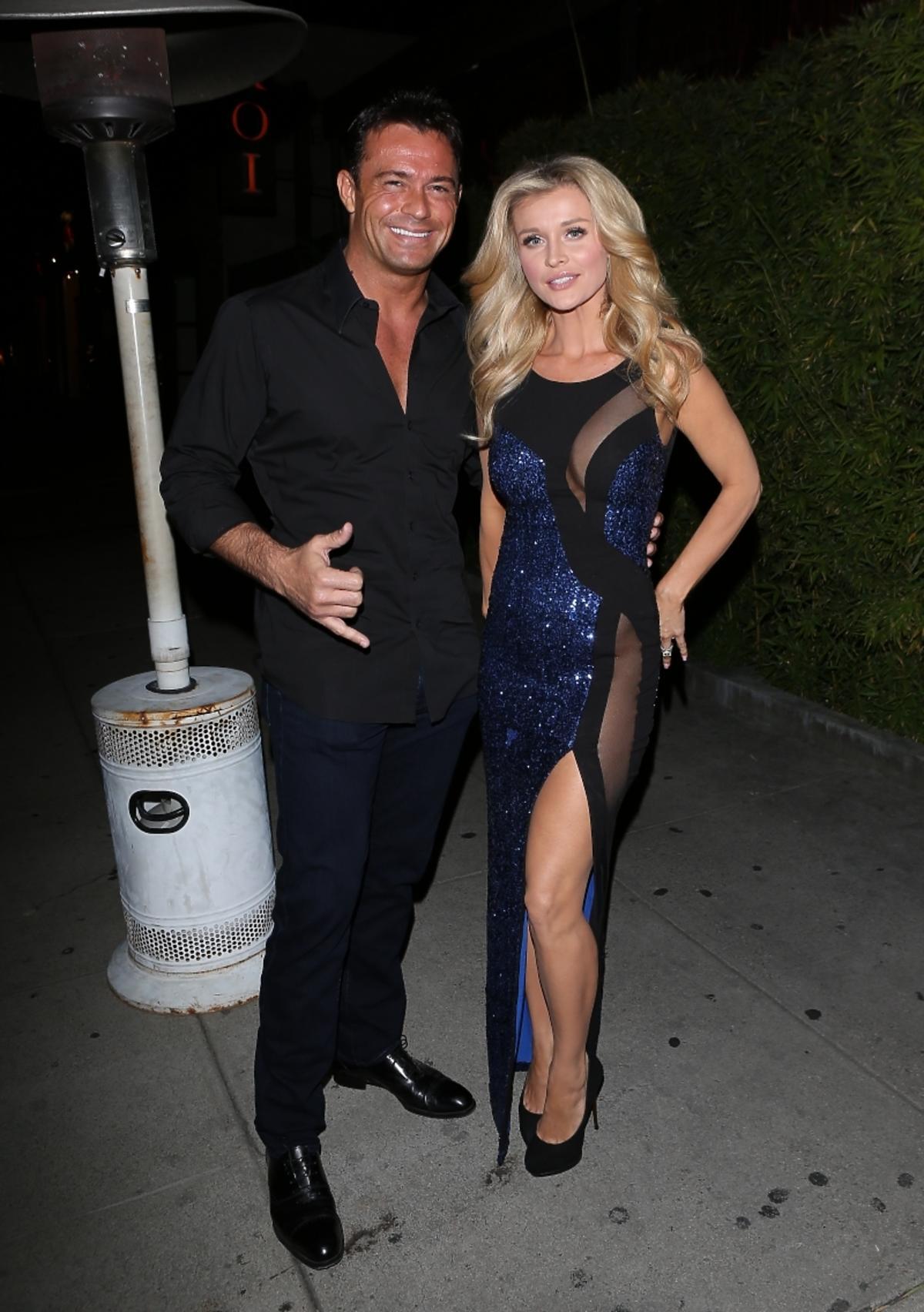 Romain Zago i Joanna Krupa na urodzinach gwiazdy