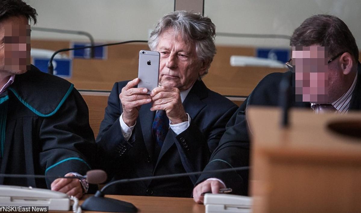 Roman Polański w sądzie w Krakowie