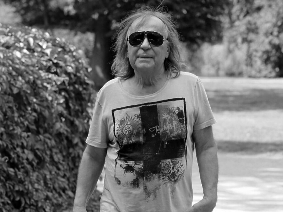 Romuald Lipko- czarno białe zdjęcie
