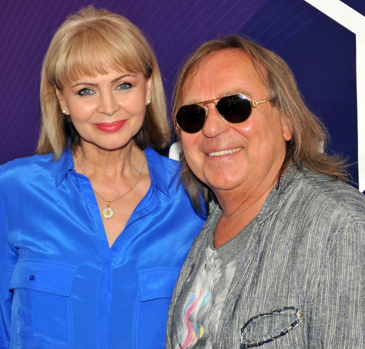 Romuald Lipko i Izabela Trojanowska