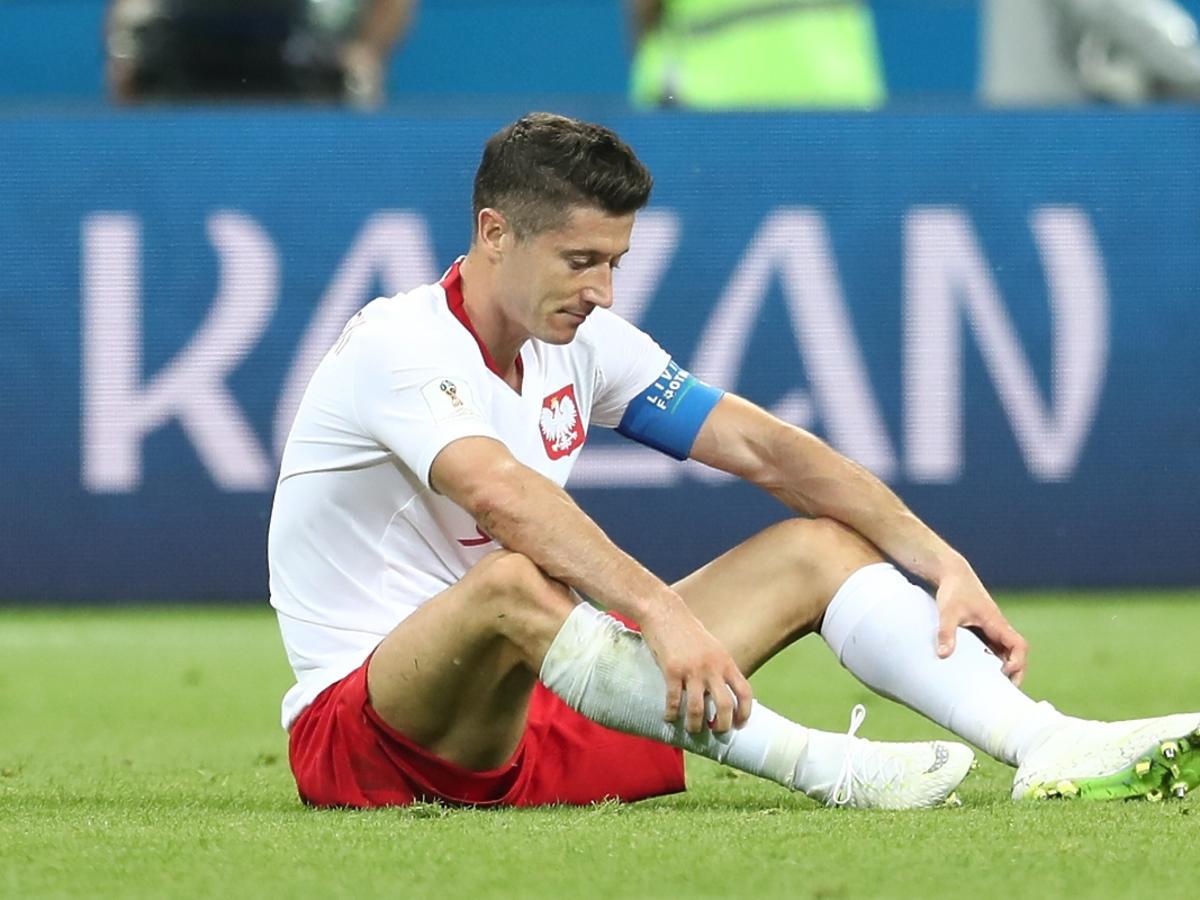 Rosja Kazan Mistrzostwa Swiata w pilce noznej Grupa H Mecz Polska - Kolumbia