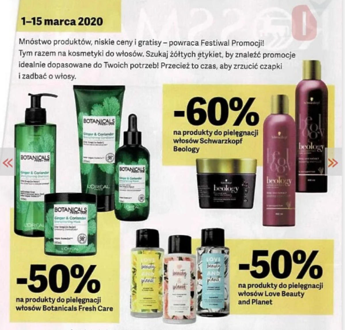 Rossmann gazeta kosmetyki do włosów