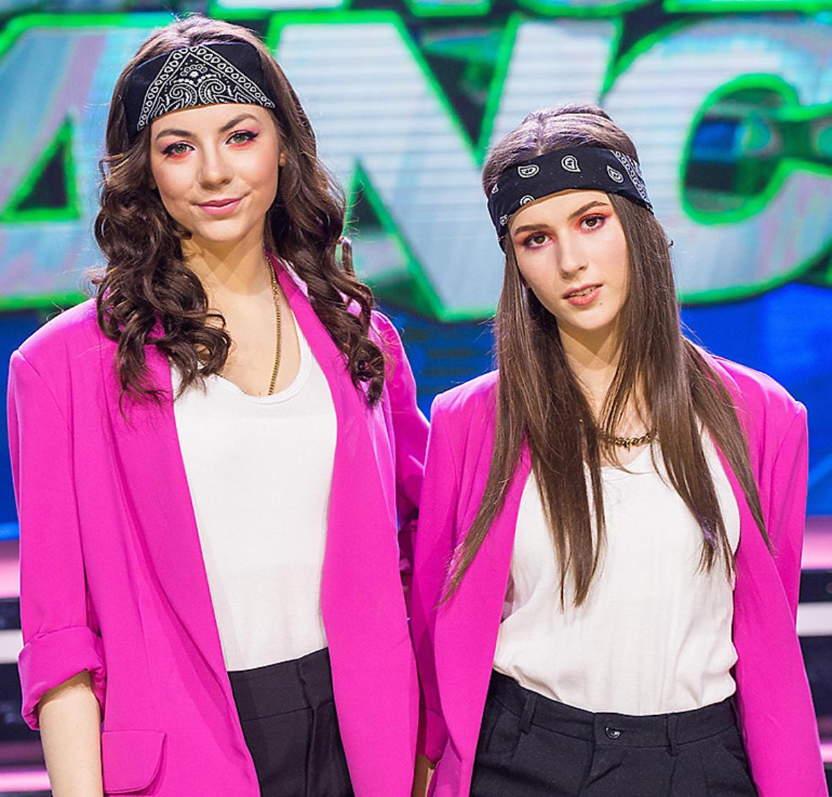 Roxie Węgiel i Oliwia Górniak w Dance Dance Dance