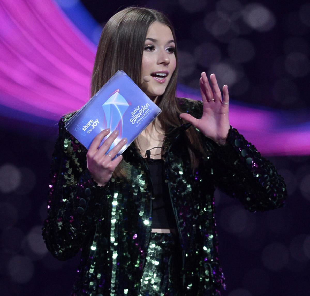 Roxie Węgiel podczas Eurowizji Junior 2019