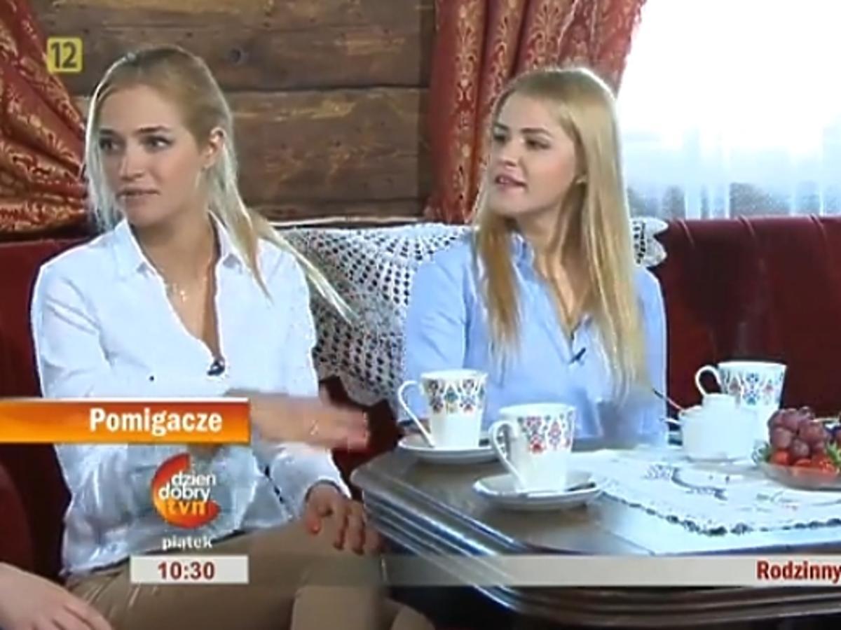 Rozalia Macewicz z siostrami w Dzień Dobry TVN