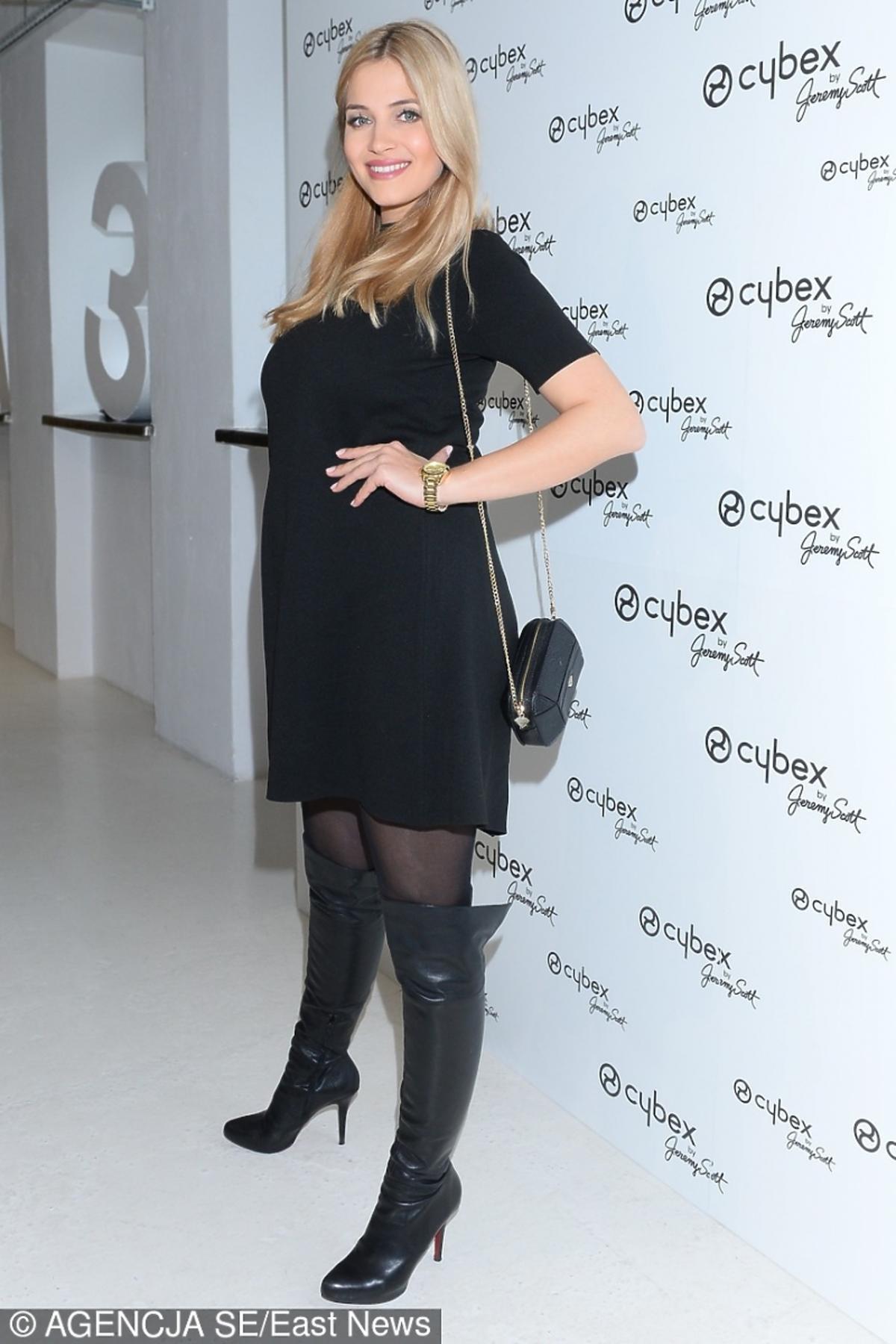 Rozalia Mancewicz na premierze kolekcji Cybex by Jeremy Scott