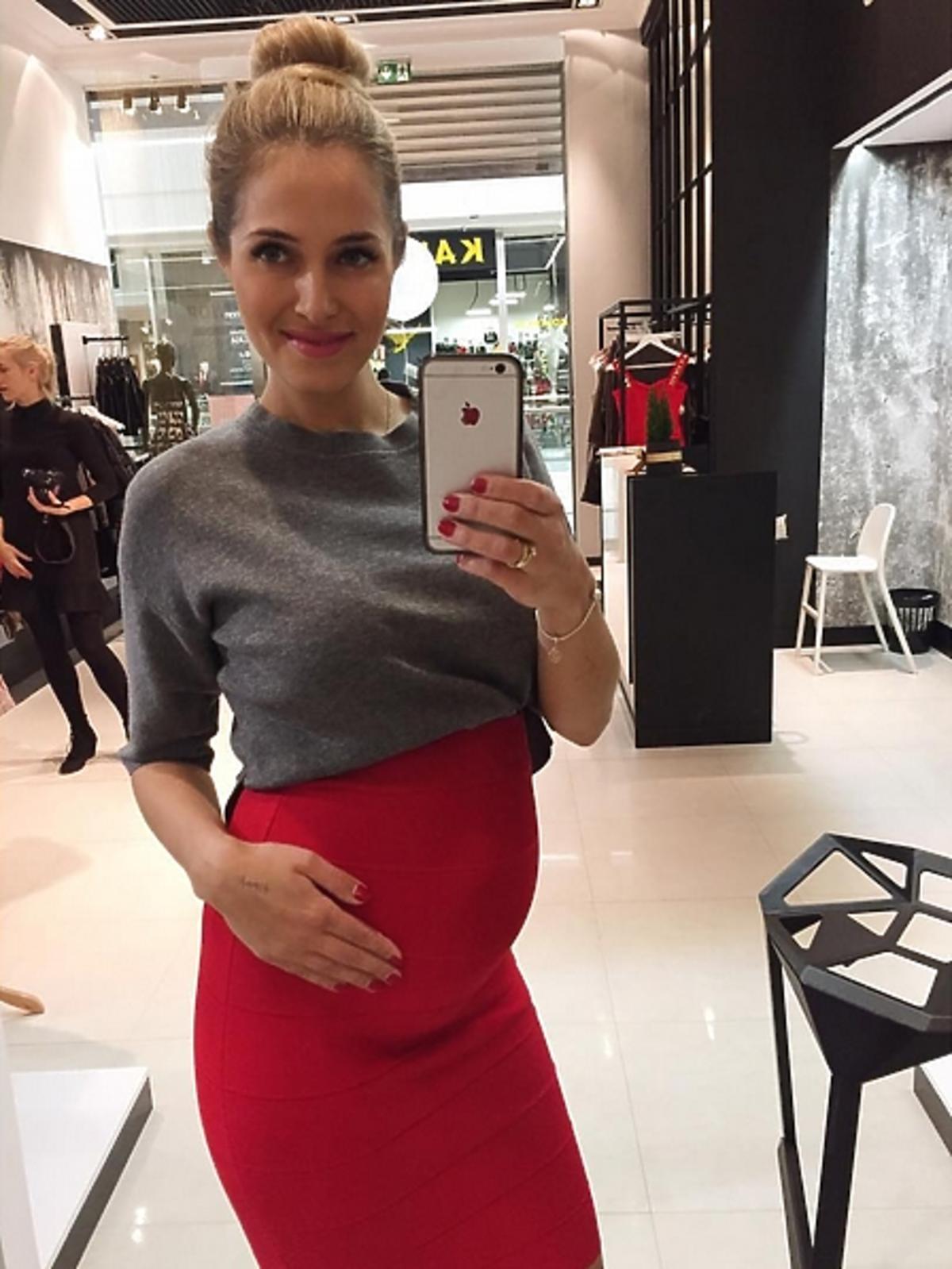 Rozalia Mancewicz pokazała zdjęcie w ciąży