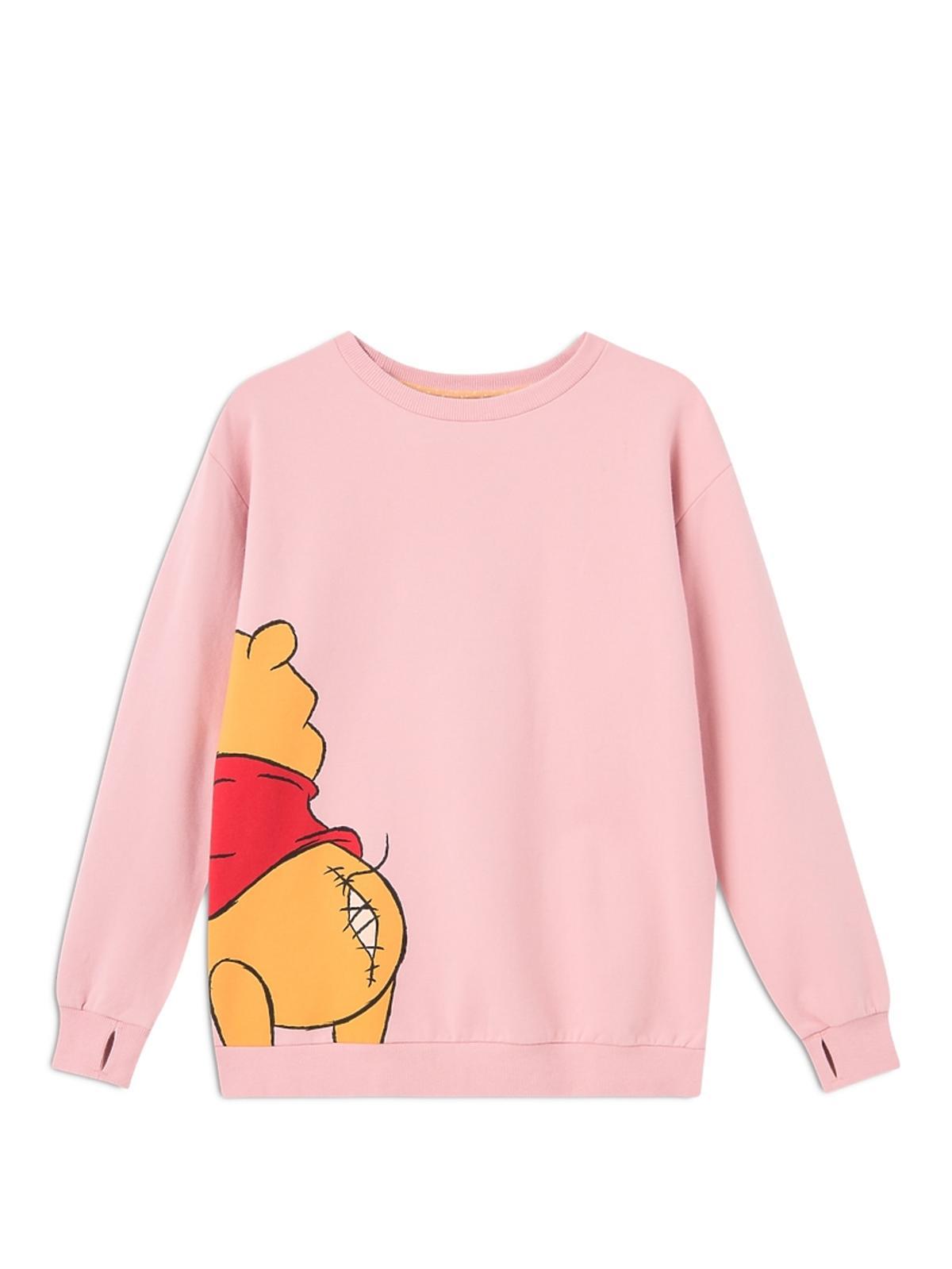 różowa bluza z puchatkiem Femi Stories