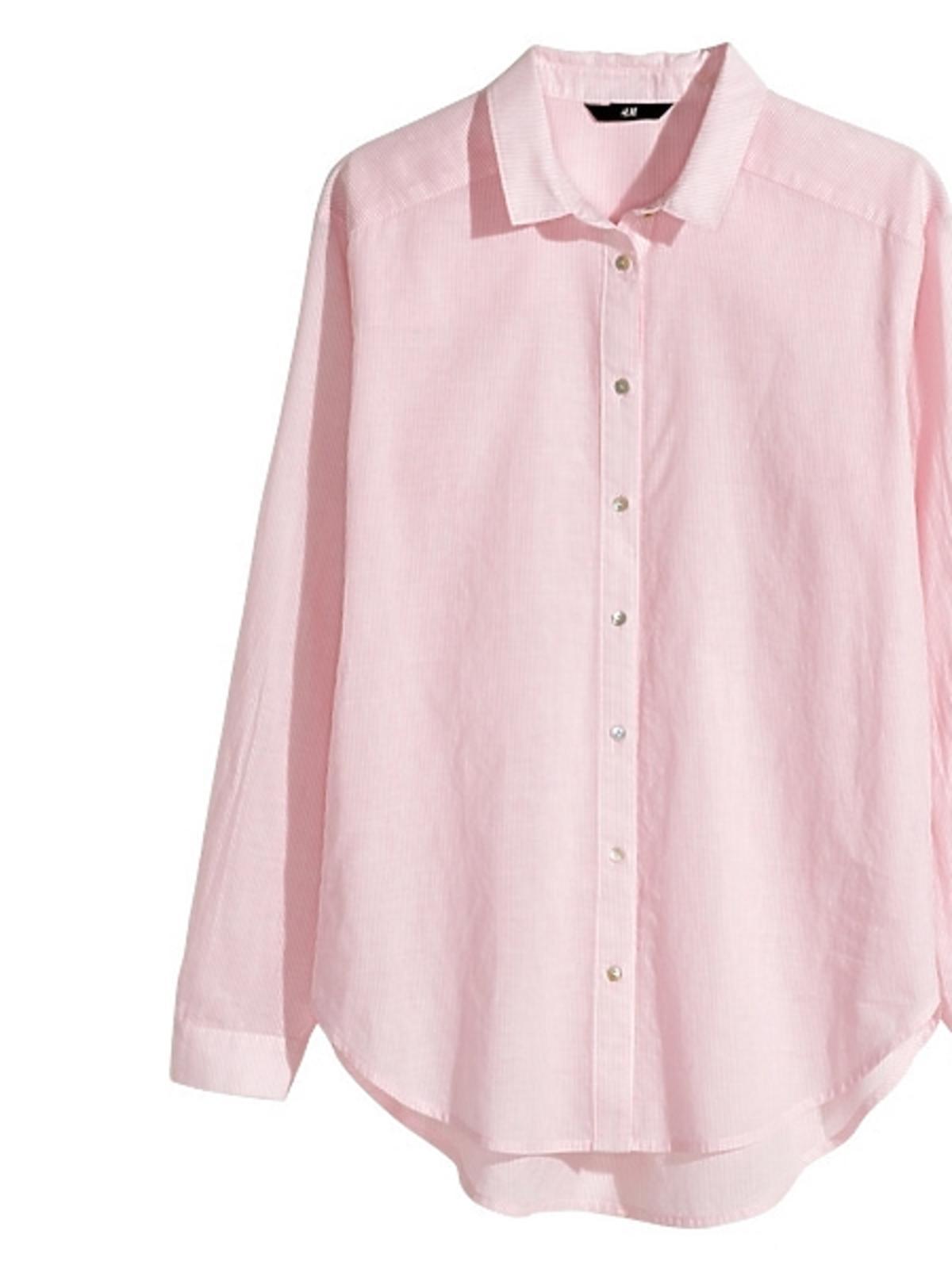 Różowa koszul H&M, cena
