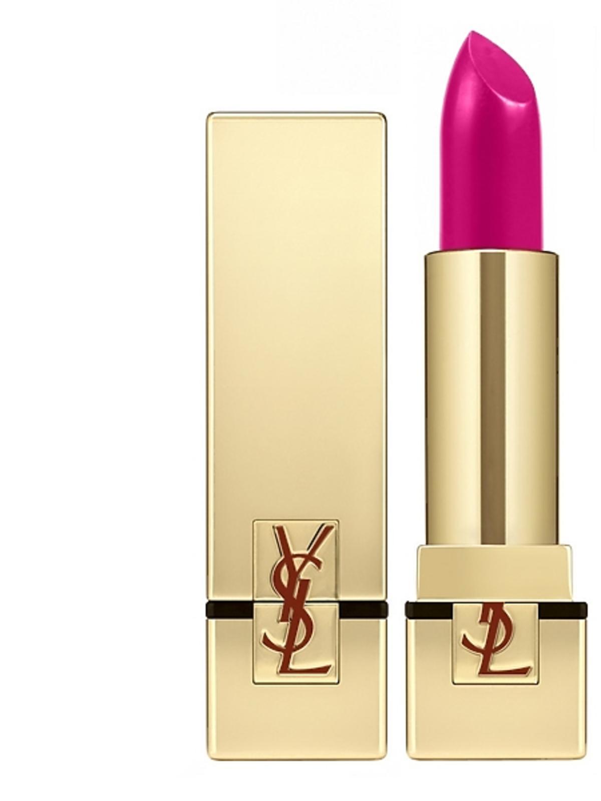 Różowa szminka do ust Yves Saint Laurent (Le Fuchsia), cena