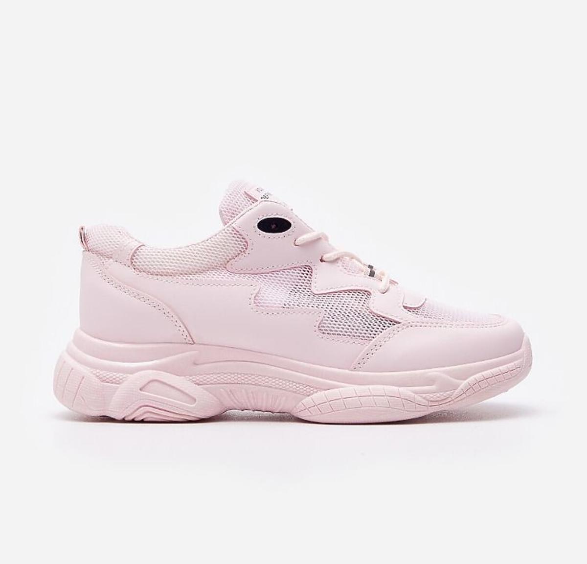 Różowe sneakersy House
