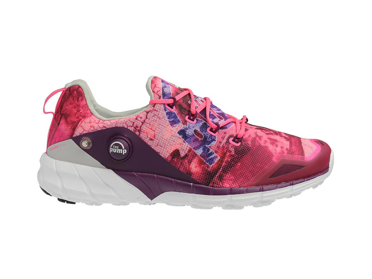 Różowo-białe buty sportowe