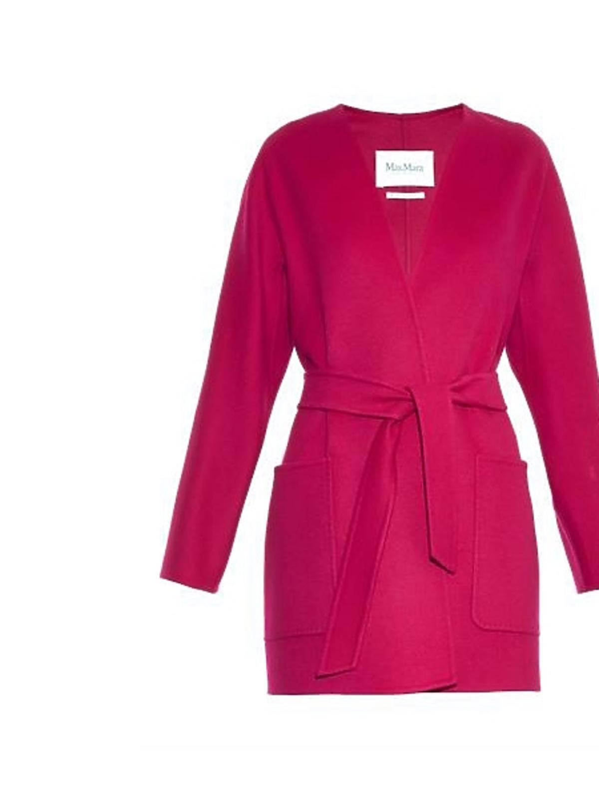 Różowy płaszcz Max Mara, cena