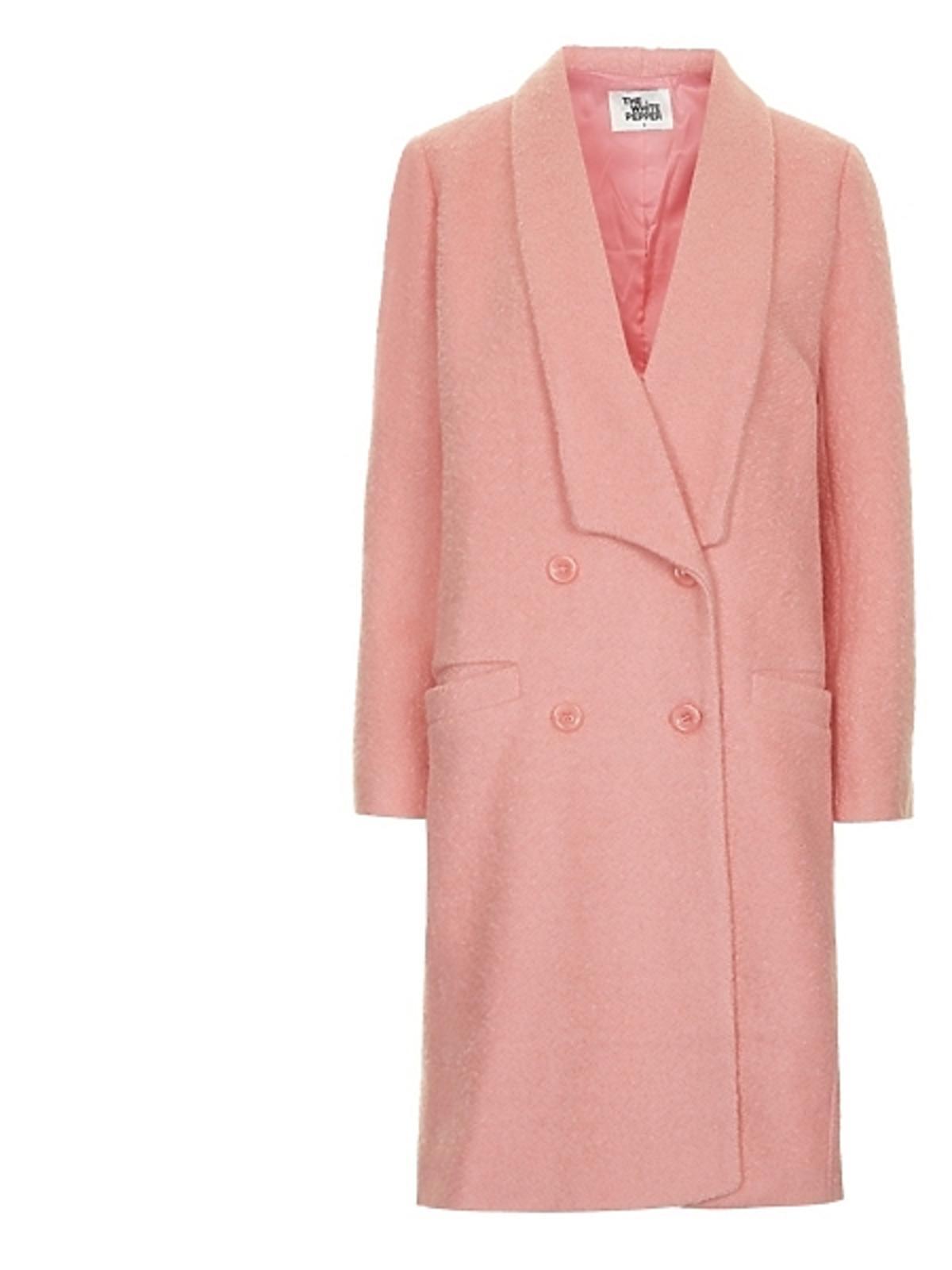 Różowy płaszcz Topshop, cena