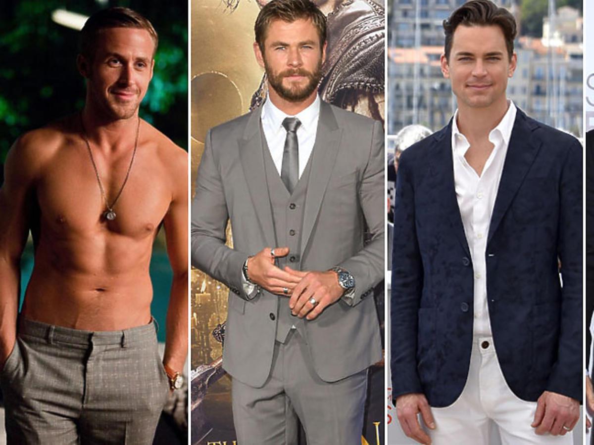 Ryan Gosling, Chris Hemsworth, Matt Bomer, Ian Somerhalder  - oni mogli zagrać Greya