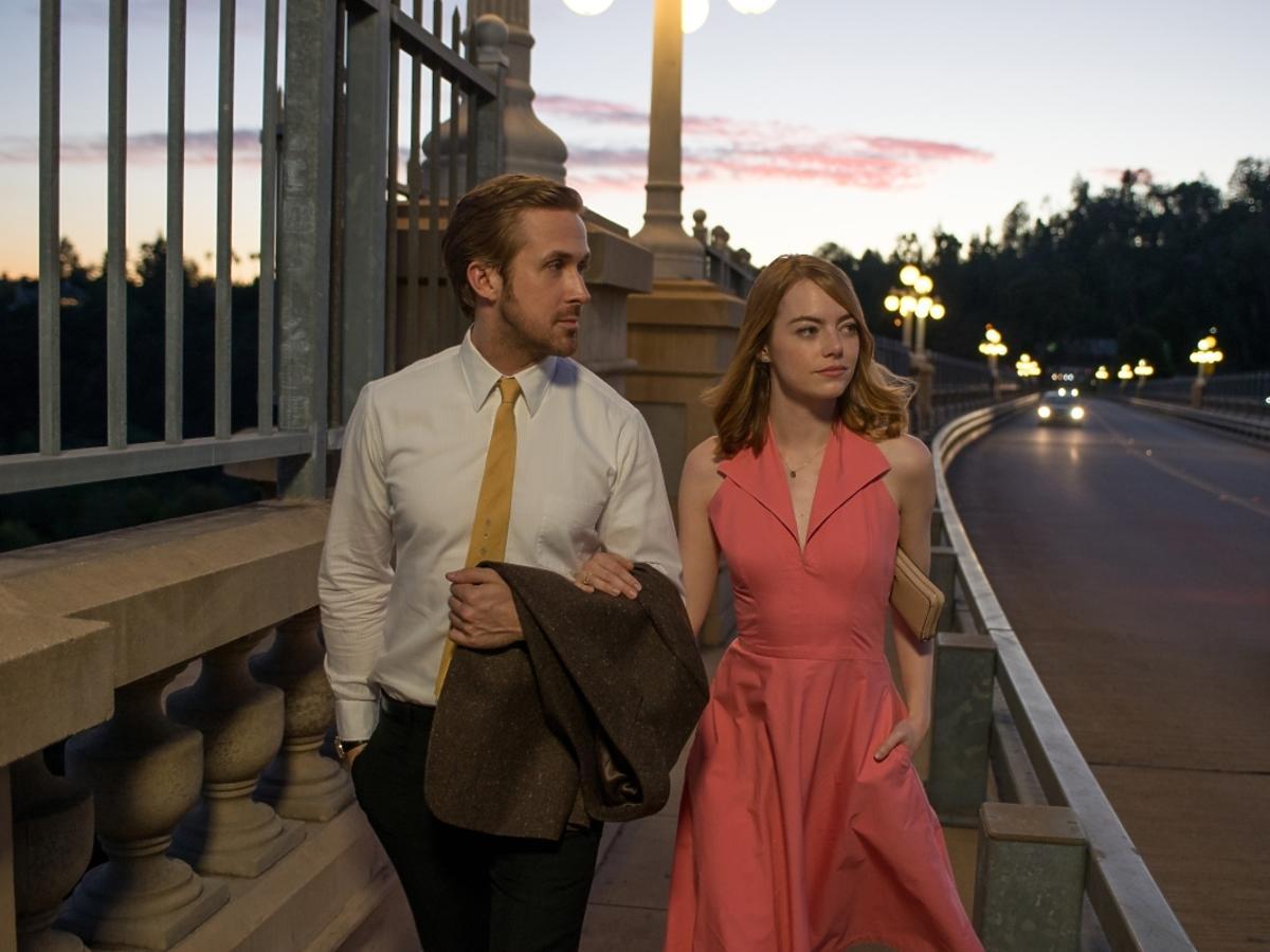 Ryan Gosling i Emma Stone w filmie La La Land