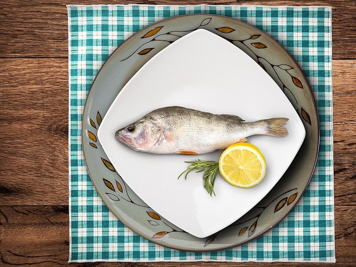 Ryba na talerzu