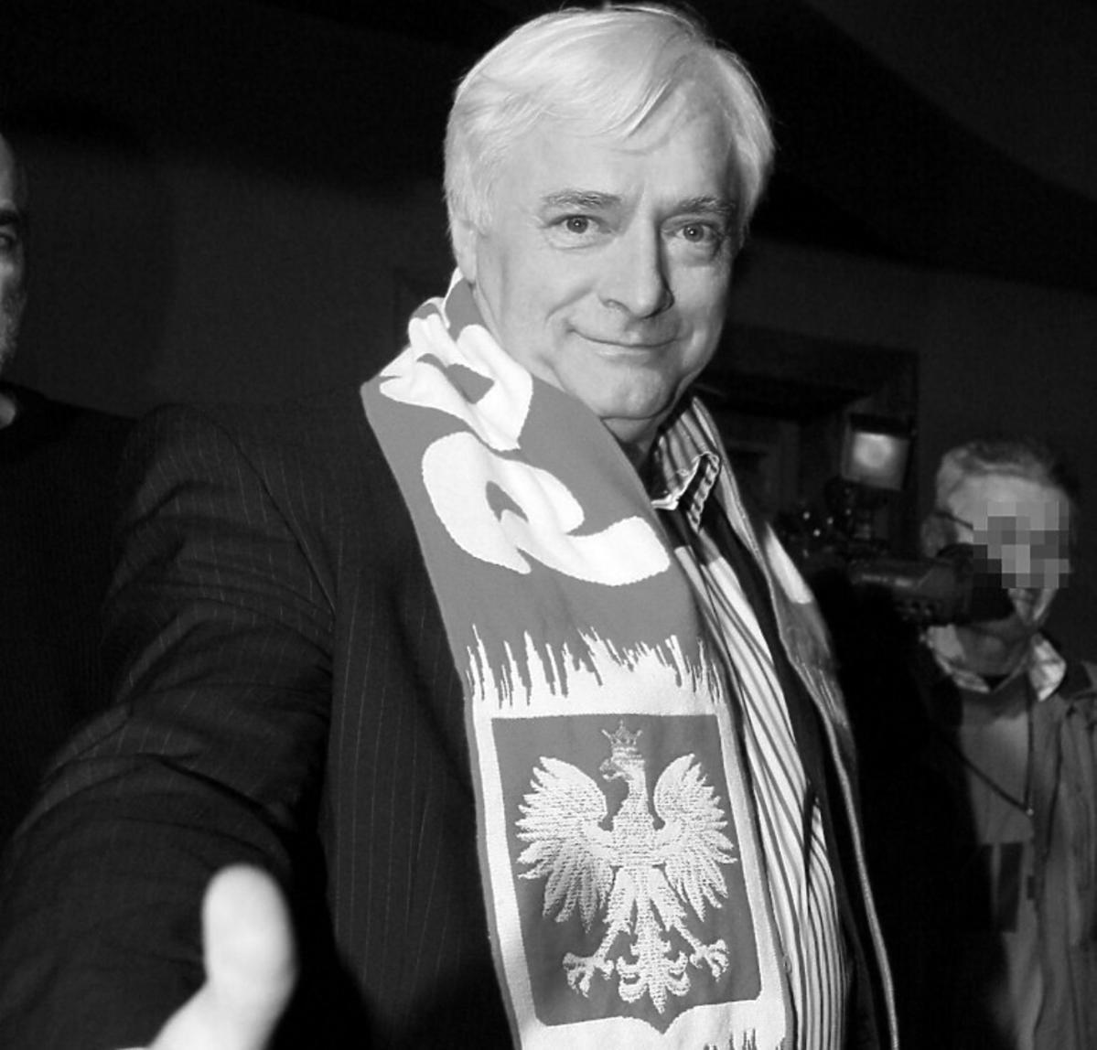 Ryszard Adamus czarno-białe zdjęcie