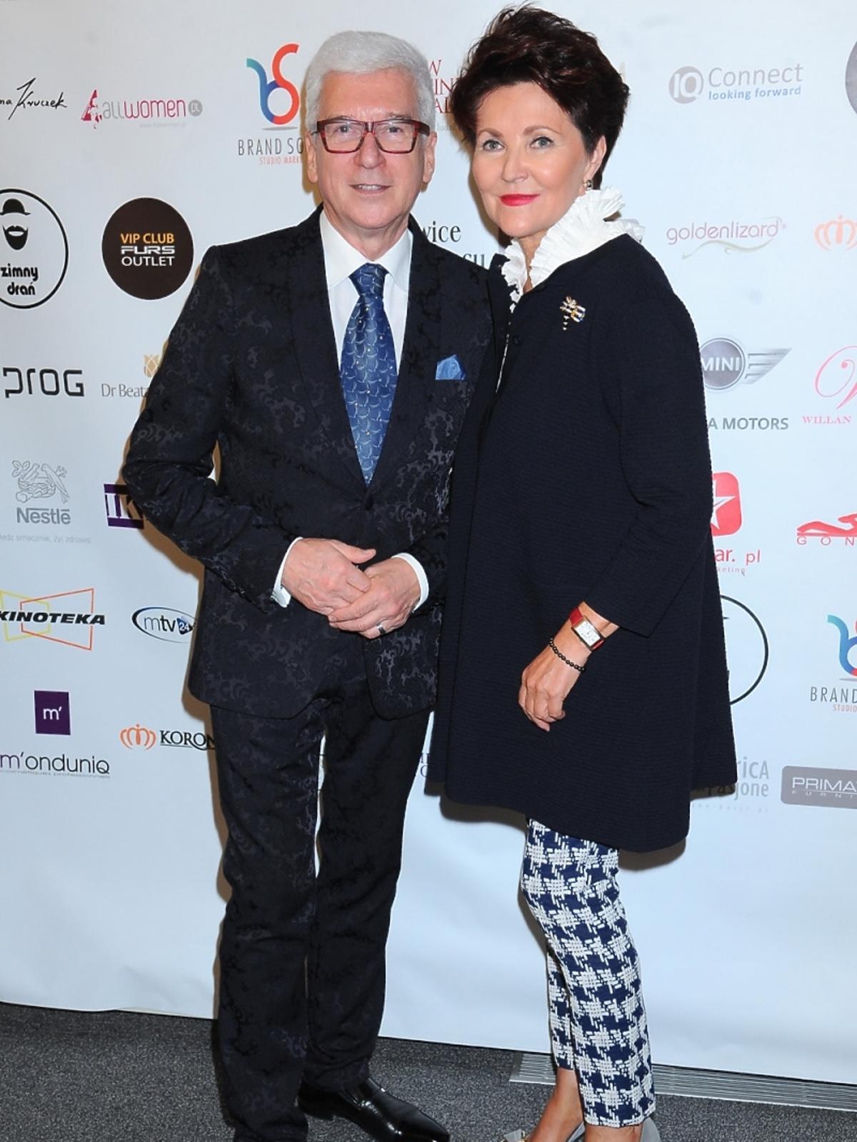 Ryszard Rembiszewski i Jolanta Kwaśniewska na gali Lwice Biznesu