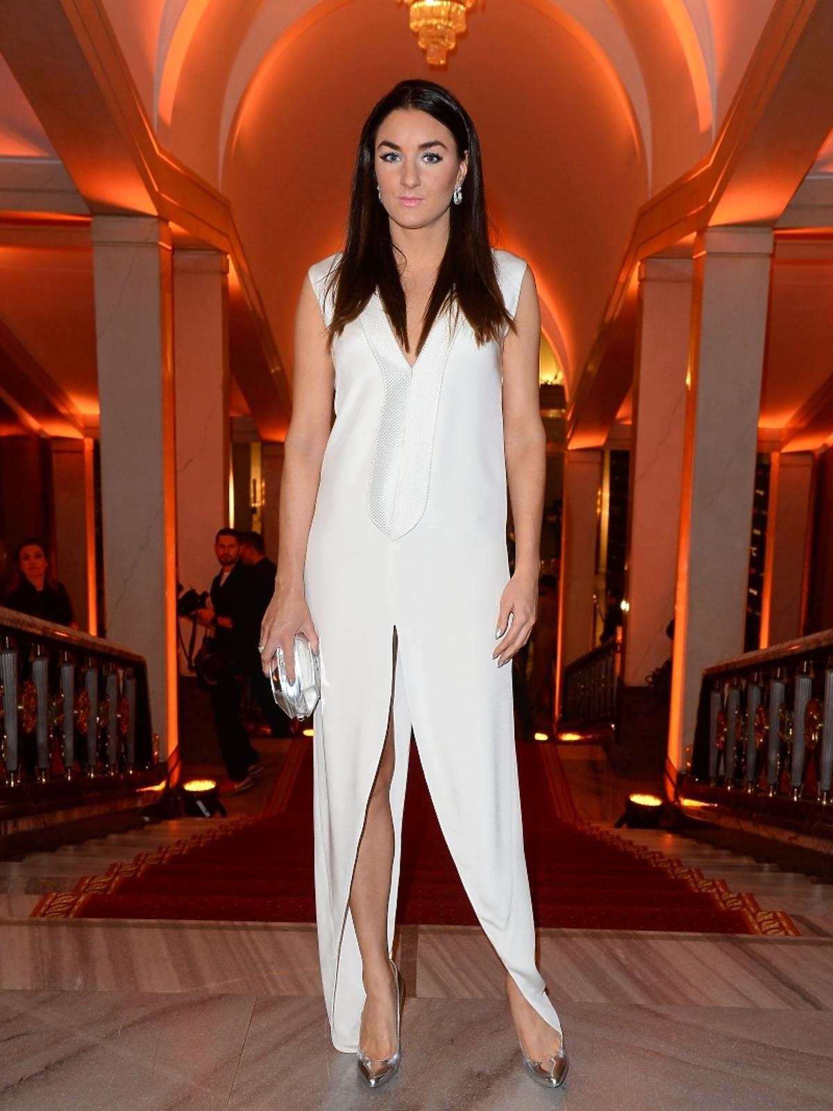 Sabrina Pilewicz na imprezie Flesz Fashion Night