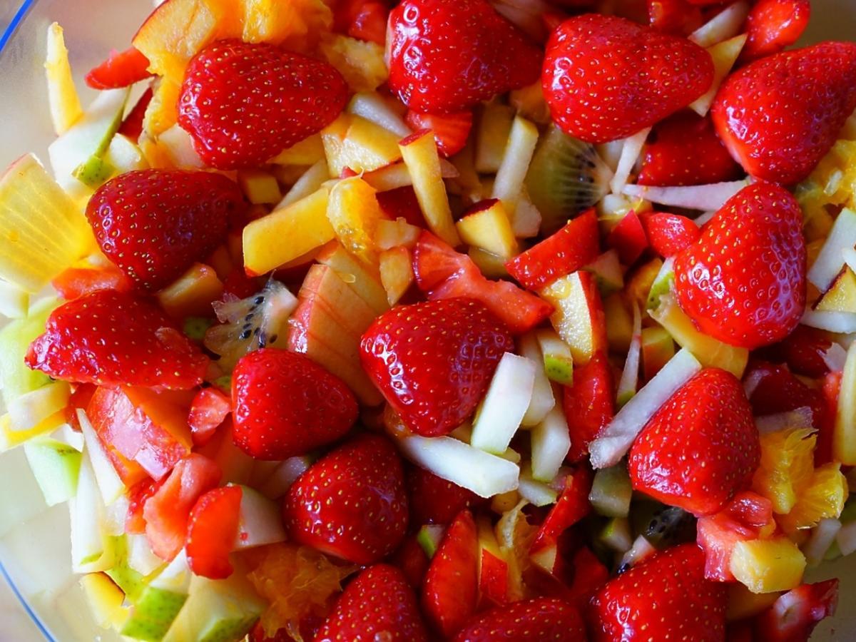 sałatka truskawkowa