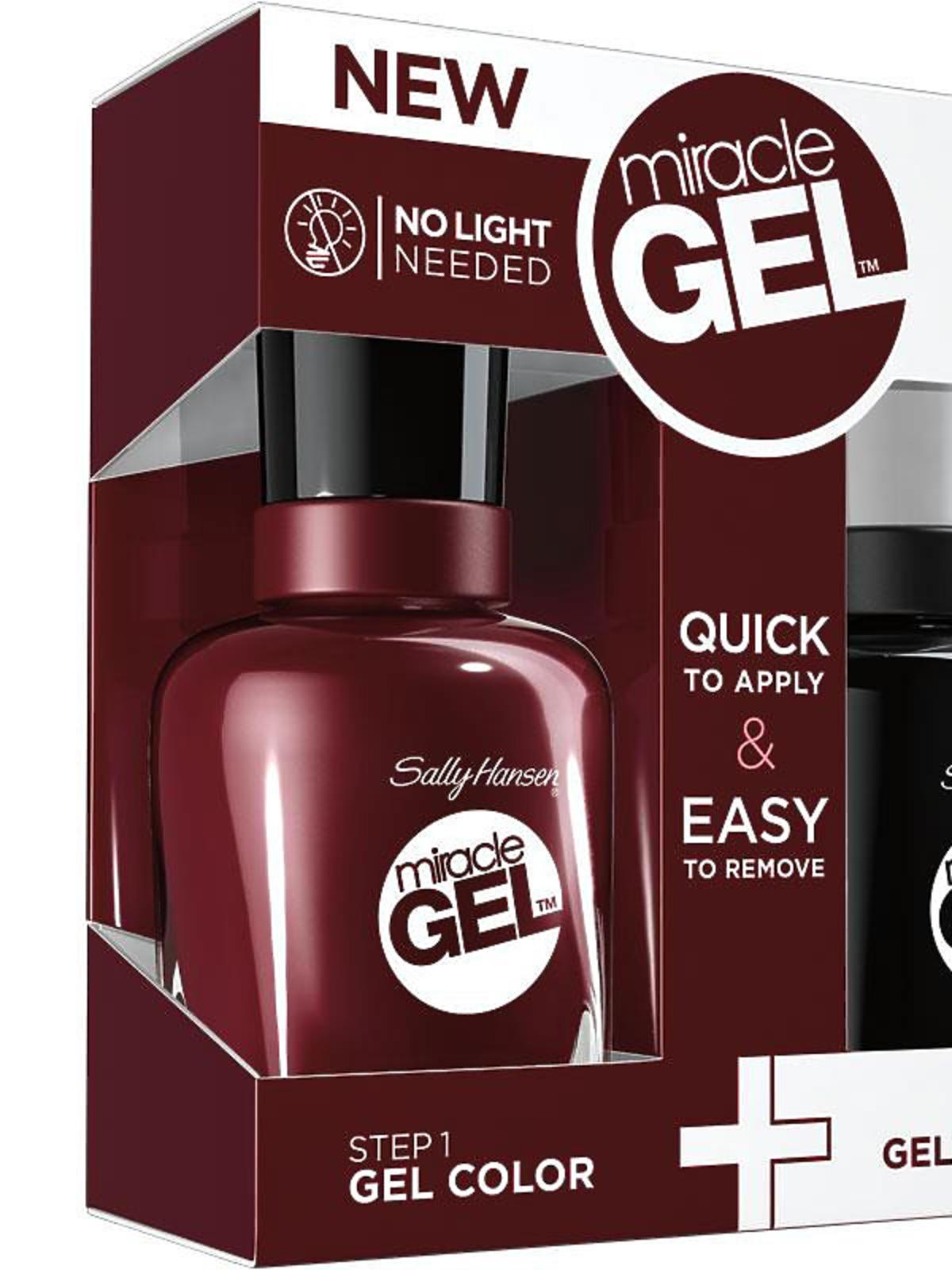 Zestaw do żelowego manicure bez lampy UV - do wykonania w domu. Miracle Gel Duo Pack, cena: ok. 50 zł