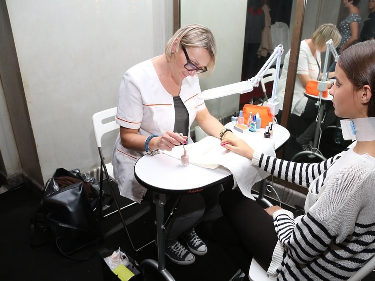 Sally Hansen na Flesz Fashion Night